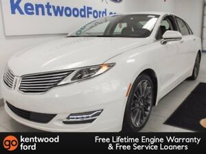 2016 Lincoln MKZ MKZ with NAV, back up cam, heated power leather
