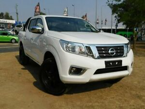 2018 Nissan Navara D23 Series III MY18 RX (4x2) White 7 Speed Automatic Dual Cab Pick-up