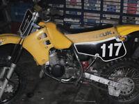 2 youth dirt bikes, Suzuki 80cc and Paterra 70cc
