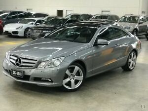 2010 Mercedes-Benz E350 C207 Avantgarde 7G-Tronic Palladium Silver 7 Speed Sports Automatic Coupe