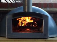 Wood-fired pizza oven from Blistering Ovens