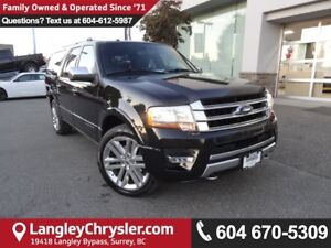 2015 Ford Expedition Max Platinum *ACCIDENT FREE*ONE OWNER*LO...