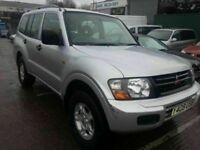 MITSUBISHI SHOGUN 3.2DID DIESEL AUTOMATIC 7 SEATER 4X4 12 MONTHS MOT SERVICE HISTORY 1 OWNER CAR