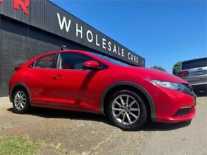 2013 Honda Civic 9th Gen MY13 VTi-S 5 Speed Sports Automatic Hatchback Mayfield West Newcastle Area Preview