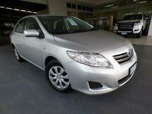 2009 Toyota Corolla ZRE152R Ascent Silver Pearl 4 Speed Automatic Sedan Devonport Devonport Area Preview