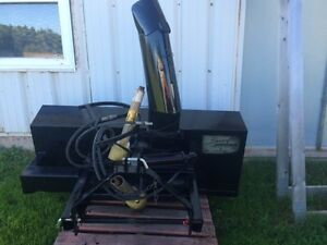 61 inch rear mount blower with hyd