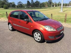 2006 Ford Fiesta WQ LX Red 5 Speed Manual Hatchback West Gosford Gosford Area Preview