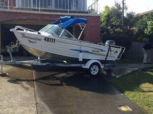 Quintrex Escape 430 excellent condition low hours Rosny Clarence Area Preview