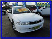 1998 Mitsubishi Lancer CE GLi White 4 Speed Automatic Sedan Minto Campbelltown Area Preview