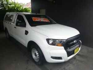 2015 Ford Ranger PX MkII XL 4x2 White 6 Speed Manual Cab Chassis Merrylands Parramatta Area Preview