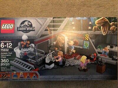 LEGO Jurassic Park Velociraptor Chase 75932 NEW!!  FREE SHIPPING!!