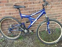 Sabre Ignition SS26 Full suspension Mountain Bike 18inch frame Near Ratcliffe on Soar