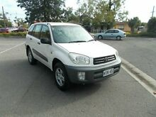 2001 Toyota RAV4 ACA21R Edge (4x4) Winter White 5 Speed Manual 4x4 Wagon Alberton Port Adelaide Area Preview