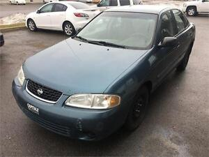 2002 Nissan Sentra XE, AC, Groupe elect, TPS INC