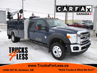 2015 Ford F-550 Supercab Lariat 4x4, Service Truck