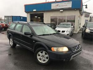 VOLVO XC70 2005 AUTO/ CUIR/ AWD/ MAGS/ TOIT OUVRANT/ PROPRE !!!