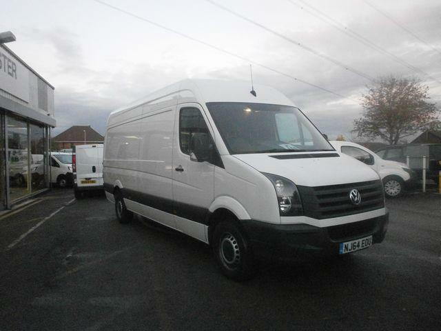Volkswagen Crafter 2.0 Tdi 109Ps High Roof Van DIESEL MANUAL WHITE (2014)