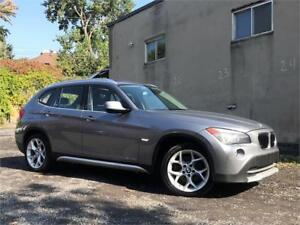 2012 BMW X1/AUTO/CUIR/4X4/4CYL/TOIT PANO/BLUETOOTH/MAGS/AUX!!!!