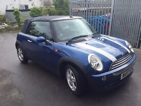 REDUCED MINI Convertible 1.6 2007 - Excellent Condition Low Mileage - £3,750