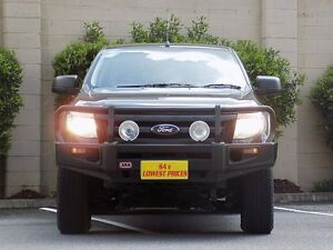 2013 Ford Ranger PX XL Double Cab Grey 6 Speed Sports Automatic Utility Blair Athol Port Adelaide Area Preview