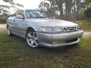 2003 Saab 9-3 MY2003 Turbo Silver 4 Speed Automatic Convertible Pooraka Salisbury Area Preview