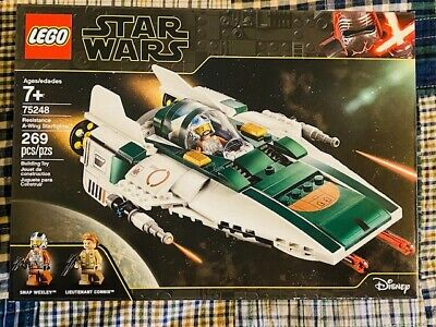 New LEGO Star Wars Resistance A-Wing Starfighter 75248 Sealed 269 Pieces