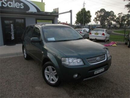 2007 Ford Territory SY Ghia Blue Sports Automatic Wagon Penrith Penrith Area Preview