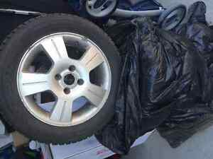 4 Snow Tires and Rims London Ontario image 2