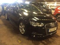 AUDI A3 1.6 TDI SPORT 5d 104 BHP + TOP SPEC WITH ALL THE EXTRAS (black) 2013