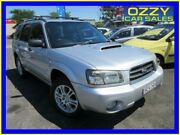 2004 Subaru Forester MY04 XT Silver 4 Speed Automatic Wagon Minto Campbelltown Area Preview