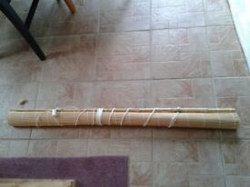 BAMBOO BLIND 4FT WIDE