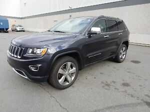 2015 JEEP GRAND CHEROKEE LIMITED LEATHER SUNROOF 4x4
