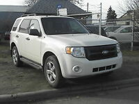 2009 Ford Escape XLT SUV, 133K 4X4 $8195.00