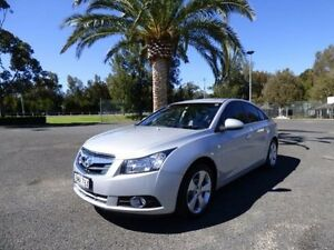2009 Holden Cruze JG CDX Silver 6 Speed Sports Automatic Sedan Cabramatta Fairfield Area Preview