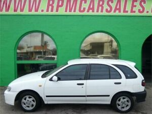 1999 Nissan Pulsar N15II Plus White 5 Speed Manual Hatchback Nailsworth Prospect Area Preview