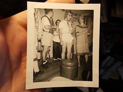 VINT SNAPSHOT PHOTO, DIAPER DAN LIFE OF THE COSTUME PARTY](Life Of The Party Costume)
