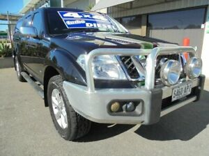 2011 Nissan Navara D40 S6 MY12 ST-X 550 Black 7 Speed Sports Automatic Utility Edwardstown Marion Area Preview