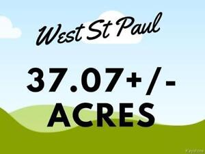 Approximately 37.07+/- Acres in West St.Paul on Pipeline Rd.