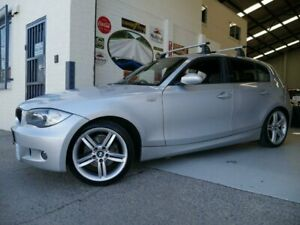 2008 BMW 120d E87 MY07 Silver Sports Automatic Hatchback Rydalmere Parramatta Area Preview