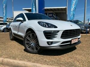 2018 Porsche Macan 95B MY18 PDK AWD White 7 Speed Sports Automatic Dual Clutch Wagon Berrimah Darwin City Preview