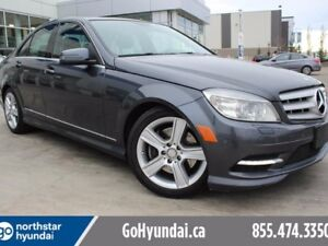 2011 Mercedes-Benz C-Class AWD 4MATIC LEATHER/HEATED SEATS