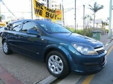 2006 Holden Astra AH MY06.5 CD Green 4 Speed Automatic Hatchback Southport Gold Coast City Preview