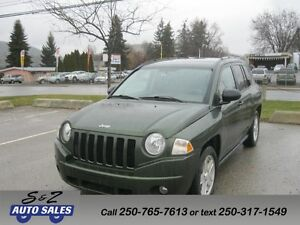 2007 Jeep Compass 4x4 local one owner!
