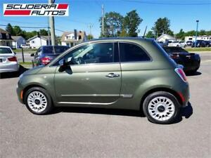Fiat 500 Lounge 2014, AUTOMATIQUE, Cuir, Toit, Impeccable !