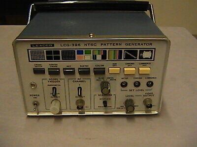 Leader Lcg-396 Ntsc Signal Generator.
