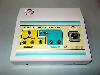 Mini Cautery Electro Surgical Model Surgical Cautery Machine Bipolar Monopolar