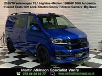 2020 70 VW Volkswagen Transporter T6.1 Kombi BiTDi 199ps DSG SWB 4Motion