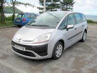 2007 (07) Citroen C4 Picasso 7 SX 16V, 1798cc Petrol, 5 Speed Manual, 7 SEATS