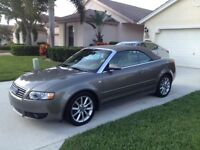 2006 Audi A4 Cabriolet une taxe a payer