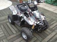 110 cc four stroke auto quad